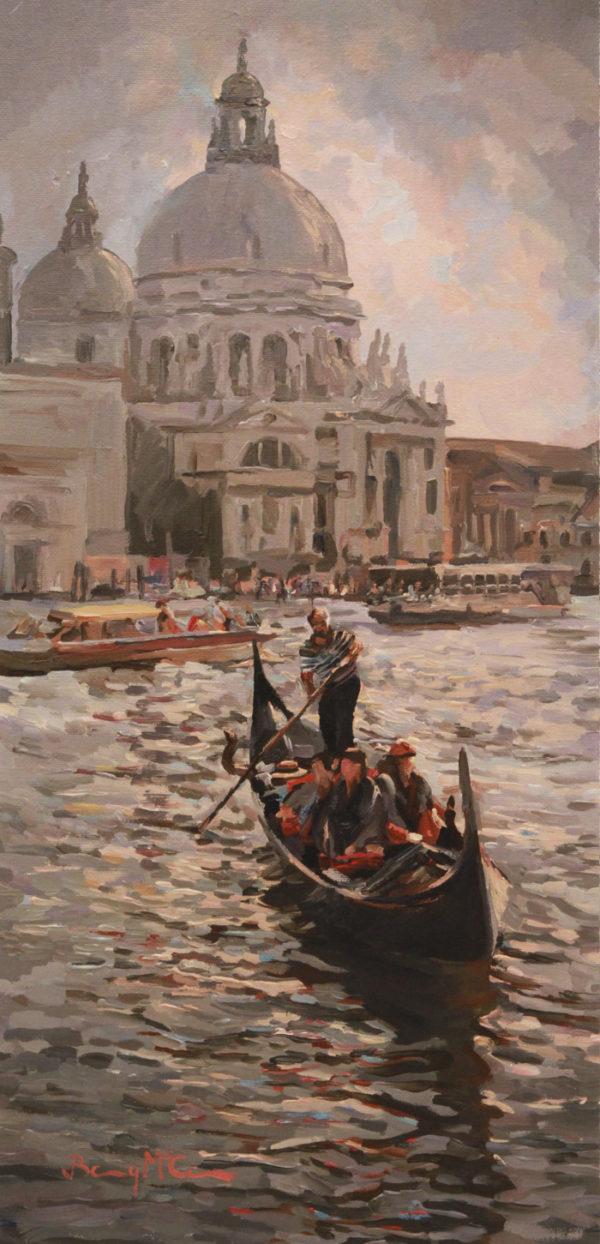 Gondola and Sante Maria