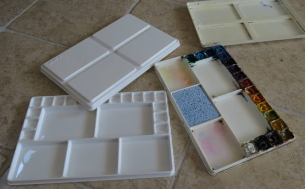 The CMW Watercolour palette