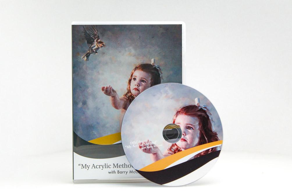'My Acrylic Method' With Barry McCann – Hard Copy