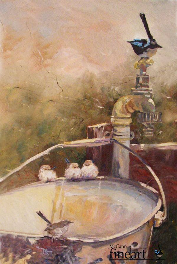 # 16 Tea Towel 500 x 700 mm 100% cotton, original artwork