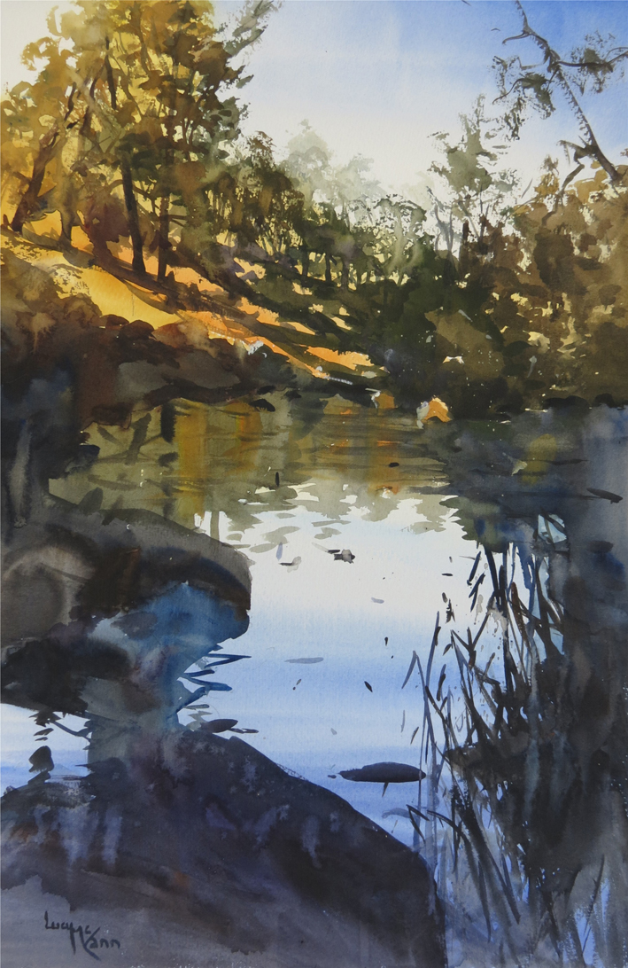 """Spring 2021 Workshop 1 – """"Learn about Watercolour"""""""
