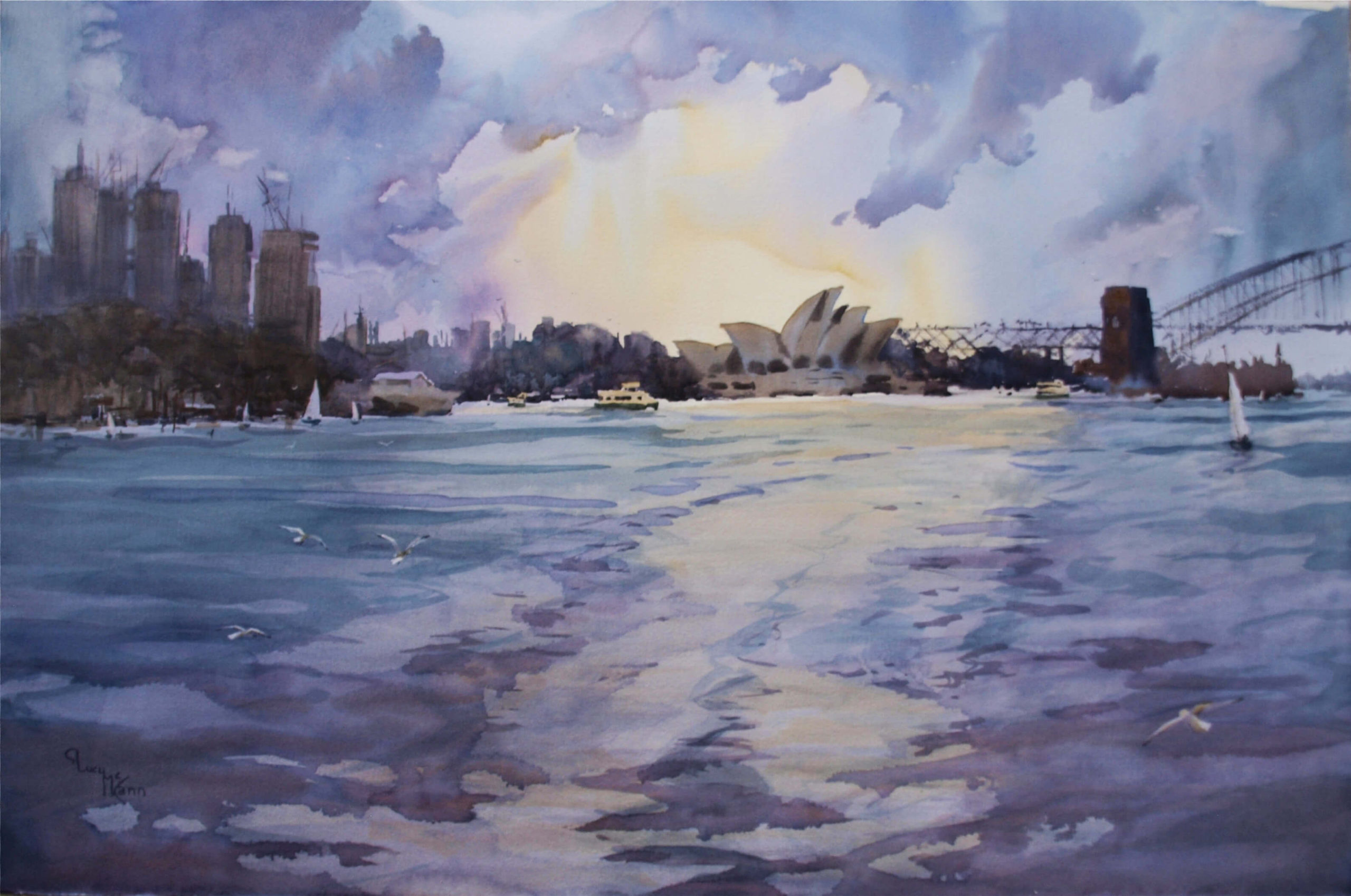 Lucy McCann Harbour Glow