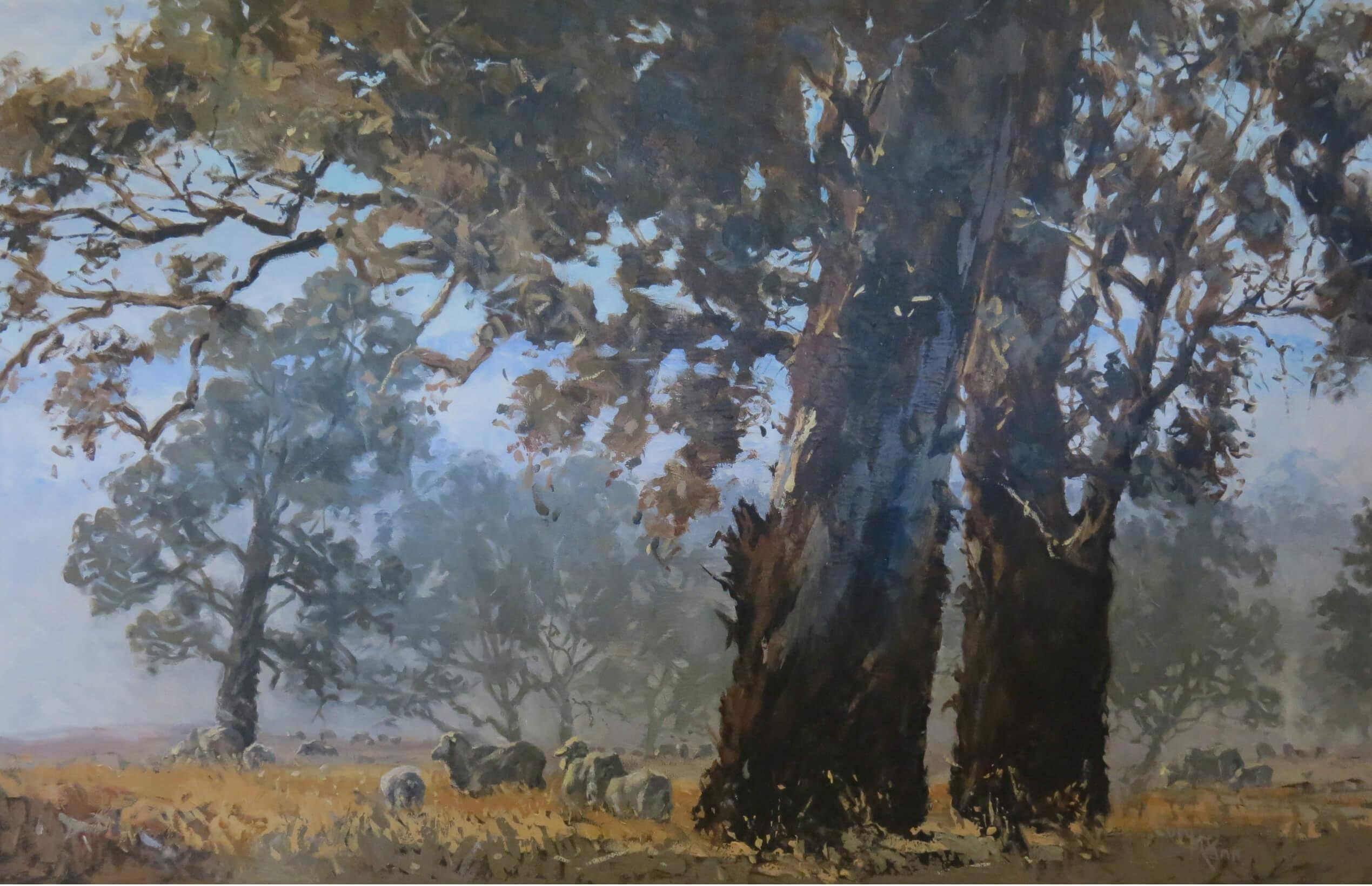 Lucy McCann Morning Fog