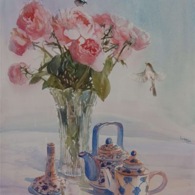 Lucy McCann Harmony in Pink and Blue