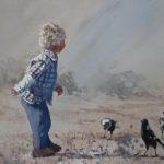 Lucy McCann My magpie friends