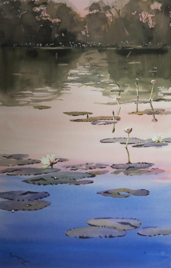Lucy McCann Still waters